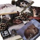 Julekort Dyrebeskyttelsen Norge