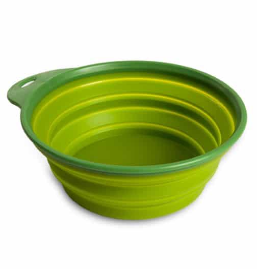 sammenleggbar mat- og vannskaal_gronn