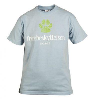 t-skjorte barn m/potetrykk