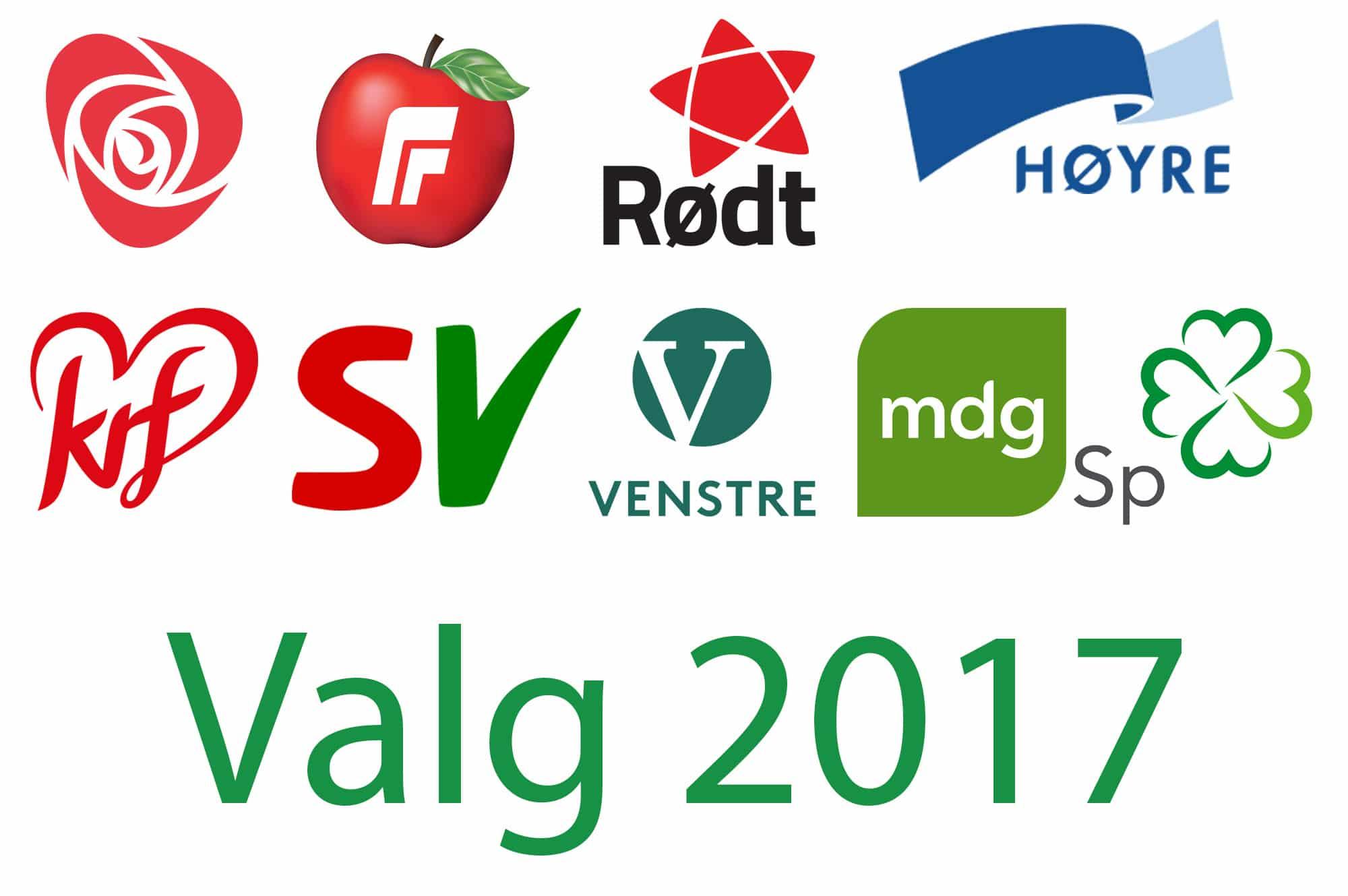 Valgoversikt 2017 Dyrebeskyttelsen Norge