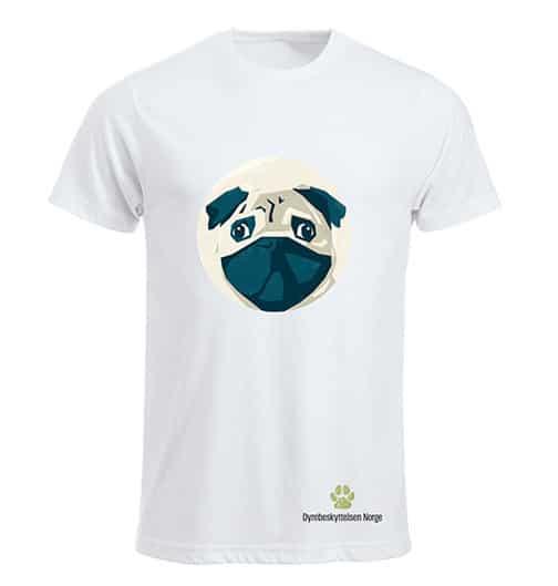 T skjorte Ærlig talt Dyrebeskyttelsen Norge