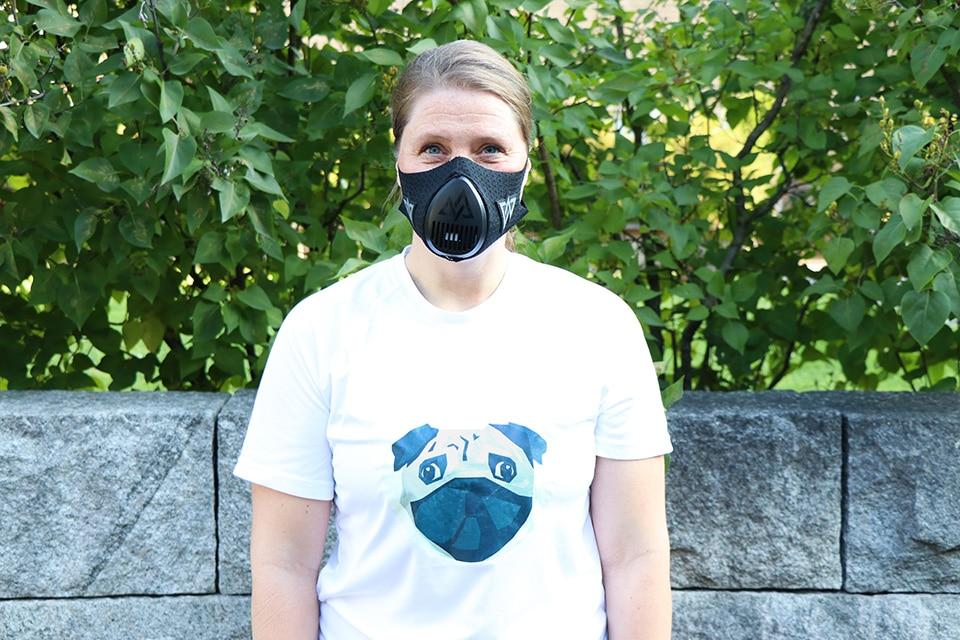 Daglig leder i Dyrebeskyttelsen Norge skal løpe Oslo Maraton med oksygenreduserende maske