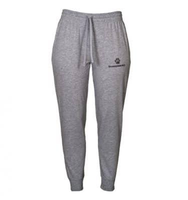 Ny grå joggebukse med logo