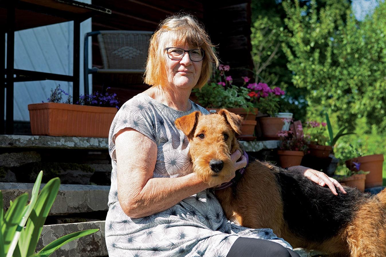 Liv Emma Thorsen med Daphni Valdeminde. Foto: Annette Bjørndalen Søreide.