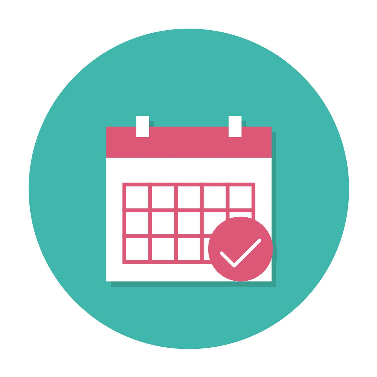 Illustrasjon av kalender. Foto: Pixabay